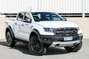 2018 Ford Ranger PX MkIII MY19 Raptor 2.0 (4x4) White 10 Speed Automatic Double Cab Pickup Cannington Canning Area Preview