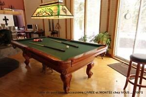 Table de pool/billard Valeur de 6000$