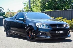 2013 Holden Special Vehicles Maloo GEN-F MY14 R8 Black 6 Speed Sports Automatic Utility