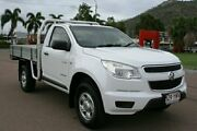 2012 Holden Colorado RG MY13 DX 4x2 White 5 Speed Manual Cab Chassis Townsville Townsville City Preview