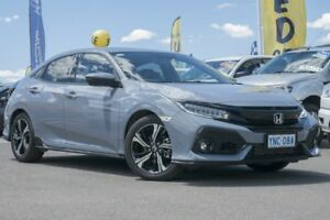 2017 Honda Civic 10th Gen MY17 RS Grey 1 Speed Constant Variable Hatchback