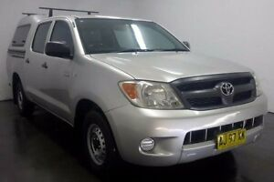 2006 Toyota Hilux TGN16R Workmate Silver Manual Utility Cabramatta Fairfield Area Preview