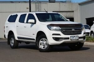 2016 Holden Colorado RG MY16 LS Crew Cab White 6 Speed Sports Automatic Cab Chassis South Melbourne Port Phillip Preview