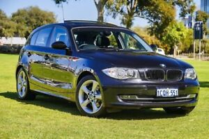 2007 BMW 120i E87 MY07 Black Sapphire 6 Speed Automatic Hatchback Burswood Victoria Park Area Preview