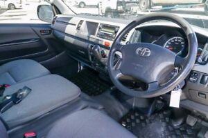 2010 Toyota Hiace KDH221R MY11 Super LWB White 5 Speed Manual Van