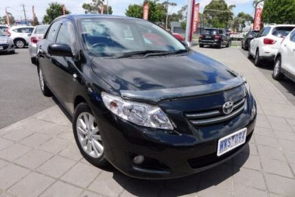 2008 Toyota Corolla ZRE152R Ultima Black 4 Speed Automatic Sedan
