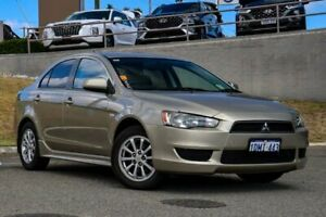 2010 Mitsubishi Lancer CJ MY11 ES Gold 6 Speed Constant Variable Sedan Myaree Melville Area Preview