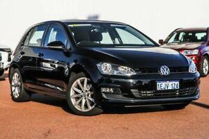 2013 Volkswagen Golf VII 103TSI DSG Highline Black 7 Speed Sports Automatic Dual Clutch Hatchback