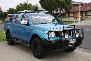 2007 Nissan Navara D40 ST-X Blue 6 Speed Manual Utility Altona North Hobsons Bay Area Preview