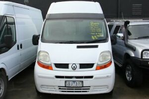 2004 Renault Trafic HIGH ROOF Turbo Diesel White 6 Speed Manual Van Carrum Downs Frankston Area Preview