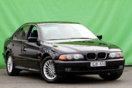 2000 BMW 523I E39 Steptronic Navy Blue 5 Speed Sports Automatic Sedan