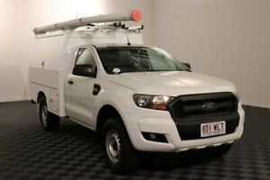 2016 Ford Ranger PX MkII XL White 6 Speed Sports Automatic Cab Chassis Acacia Ridge Brisbane South West Preview