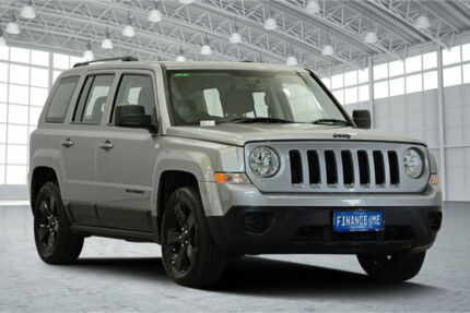 2014 Jeep Patriot MK MY14 Blackhawk CVT Auto Stick 4x2 Silver 6 Speed Constant Variable Wagon Victoria Park Victoria Park Area Preview