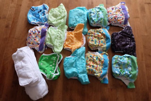 Cloth Diapers and Wet Bag