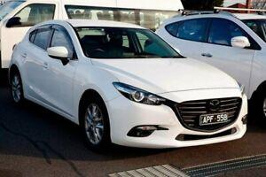 2017 Mazda 3 BN5478 Maxx SKYACTIV-Drive White 6 Speed Sports Automatic Hatchback Preston Darebin Area Preview