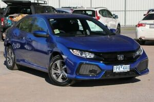 2019 Honda Civic 10th Gen MY18 VTi Blue 1 Speed Constant Variable Hatchback Ferntree Gully Knox Area Preview