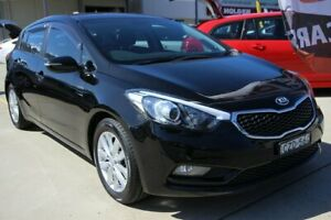 2014 Kia Cerato YD MY15 S Premium Black 6 Speed Sports Automatic Hatchback
