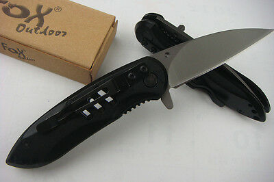 Assisted Opening Knife Folding Pocket Outdoor Survival Rescue Hiking Fox Tool ()