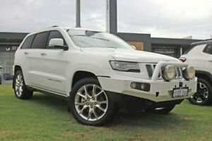 2014 Jeep Grand Cherokee WK MY2014 Summit White 8 Speed Sports Automatic Wagon Wangara Wanneroo Area Preview