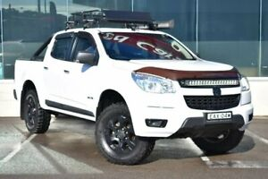 2012 Holden Colorado RG MY13 LTZ Crew Cab White 5 Speed Manual Utility Cardiff Lake Macquarie Area Preview