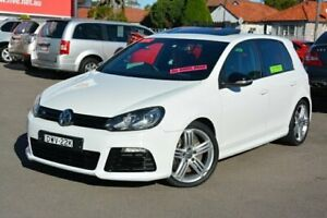 2012 Volkswagen Golf VI MY12.5 R DSG 4MOTION White 6 Speed Sports Automatic Dual Clutch Hatchback New Lambton Newcastle Area Preview