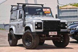 2012 Land Rover Defender 90 (No Badge) Silver Manual Kedron Brisbane North East Preview