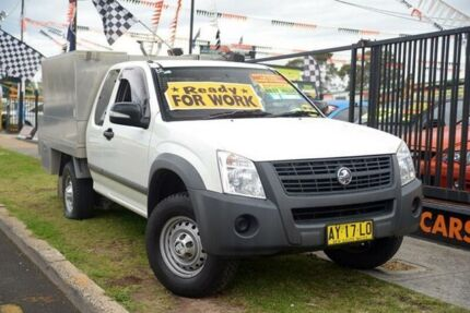 2008 Holden Rodeo RA MY08 LX White 4 Speed Automatic SPACE CAB PUP Minchinbury Blacktown Area Preview