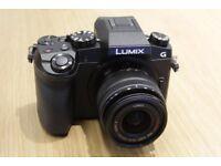 Panasonic LUMIX DMC-G7 16.0MP Digital Camera - Black With 64GB Memory Card