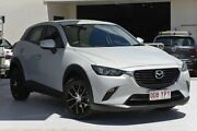 2015 Mazda CX-3 DK2W76 Neo SKYACTIV-MT White 6 Speed Manual Wagon Robina Gold Coast South Preview
