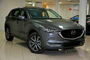 2017 Mazda CX-5 KF4WLA Akera SKYACTIV-Drive i-ACTIV AWD Machine Grey 6 Speed Sports Automatic Wagon South Melbourne Port Phillip Preview