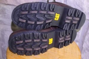 Leather BOOTS BROWN CAT Caterpillar Size US 10 ½ or UK 9 ½ EUR 4
