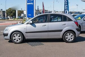 2007 Kia Rio JB MY07 LX Silver 5 Speed Manual Hatchback Brookvale Manly Area Preview