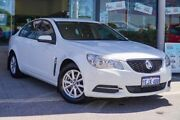 2013 Holden Commodore VF MY14 Evoke White 6 Speed Sports Automatic Sedan Myaree Melville Area Preview