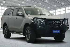 2017 Mazda BT-50 UR0YG1 XTR Silver 6 Speed Sports Automatic Utility Victoria Park Victoria Park Area Preview