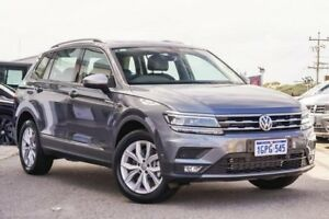 2018 Volkswagen Tiguan 5N MY18 132TSI Comfortline DSG 4MOTION Allspace Grey 7 Speed Myaree Melville Area Preview