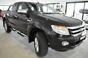 2014 Ford Ranger PX XLT Super Cab Black 6 Speed Sports Automatic Utility Port Macquarie Port Macquarie City Preview