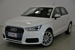 2016 Audi A1 8X MY17 Sportback S tronic White 7 Speed Sports Automatic Dual Clutch Hatchback Mansfield Brisbane South East Preview