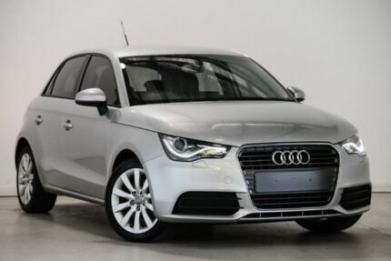 2014 Audi A1 8X MY14 Attraction Sportback S tronic Silver 7 Speed Sports Automatic Dual Clutch Mansfield Brisbane South East Preview