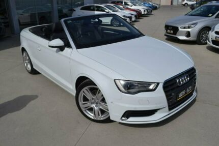 2014 Audi A3 8V Attraction White Sports Automatic Dual Clutch Mill Park Whittlesea Area Preview