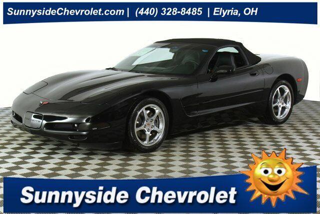 2000 Black Chevrolet Corvette     C5 Corvette Photo 1