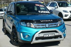 2016 Suzuki Vitara LY RT-X TCSS 4WD Atlantis Turquoise 6 Speed Sports Automatic Dual Clutch Wagon Pearce Woden Valley Preview