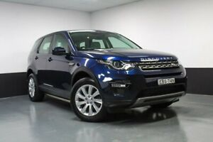 2015 Land Rover Discovery Sport L550 15MY SD4 SE Blue 9 Speed Sports Automatic Wagon