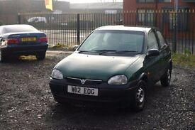 Vauxhall Corsa 1.0 (Cheap car for everyday use)
