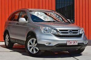 2012 Honda CR-V RE MY2011 4WD Silver 6 Speed Manual Wagon Molendinar Gold Coast City Preview