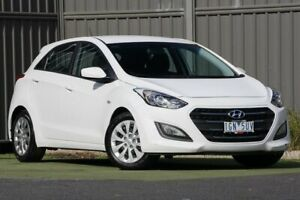 2016 Hyundai i30 GD4 Series II MY17 Active Polar White 6 Speed Sports Automatic Hatchback Wantirna South Knox Area Preview