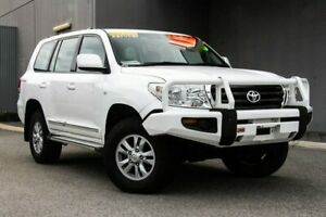2008 Toyota Landcruiser VDJ200R GXL White 6 Speed Sports Automatic Wagon Osborne Park Stirling Area Preview