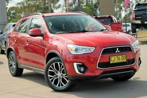 2016 Mitsubishi ASX XB MY15.5 LS 2WD Red 6 Speed Constant Variable Wagon McGraths Hill Hawkesbury Area Preview