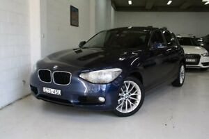 2013 BMW 118i F20 118i Blue 8 Speed Sports Automatic Hatchback Castle Hill The Hills District Preview