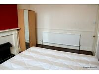 Large double bedroom with garden access. All bills included in rent. Good location for transport