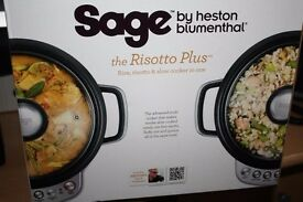 Rice, Risotto & Slow Cooker SAGE by Heston Blumenthal New and unused